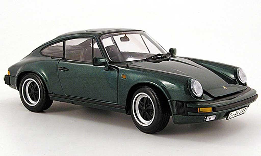 Porsche 930 3.2 1/18 Minichamps carrera verte 1976 miniature