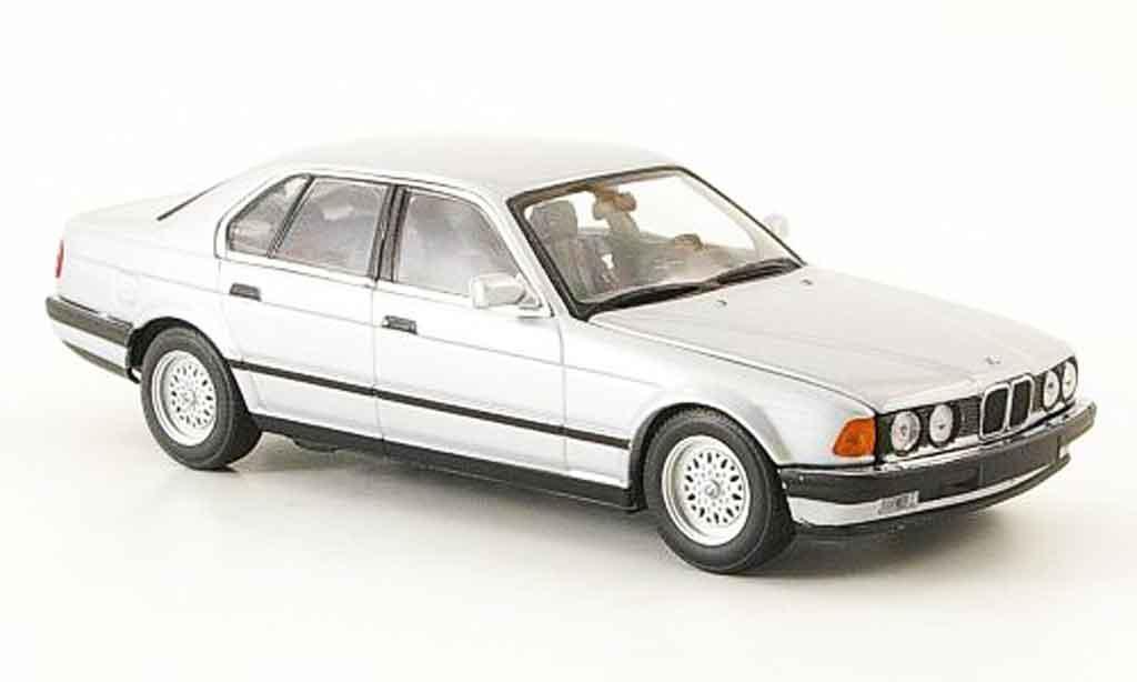 Bmw 730 E32 1/43 Minichamps i grise metallisee 1986
