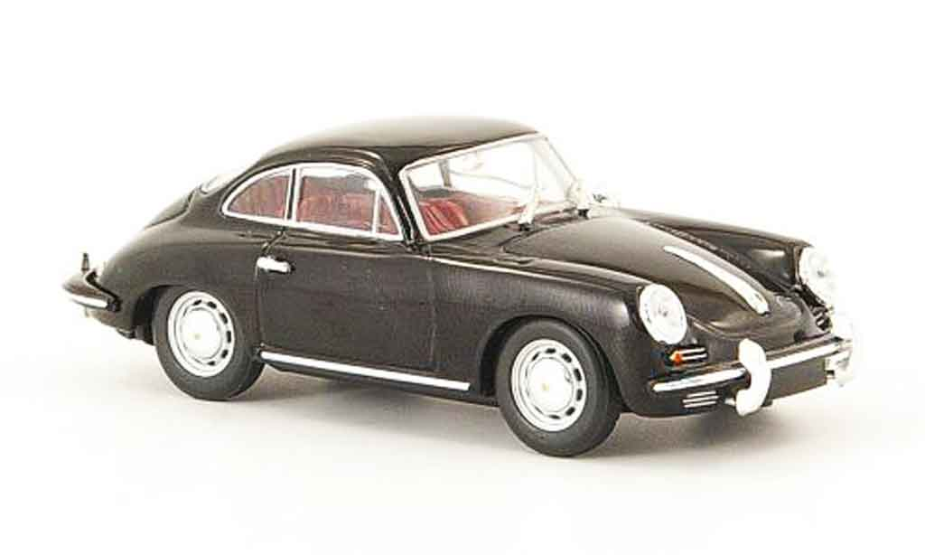 Porsche 356 1963 1/43 Minichamps C Coupe black diecast model cars