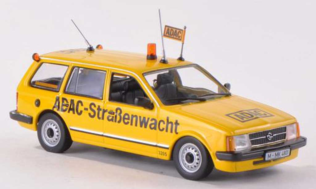 Opel Kadett D 1/43 Minichamps Caravan ADAC-Strassenwacht  1979 miniature