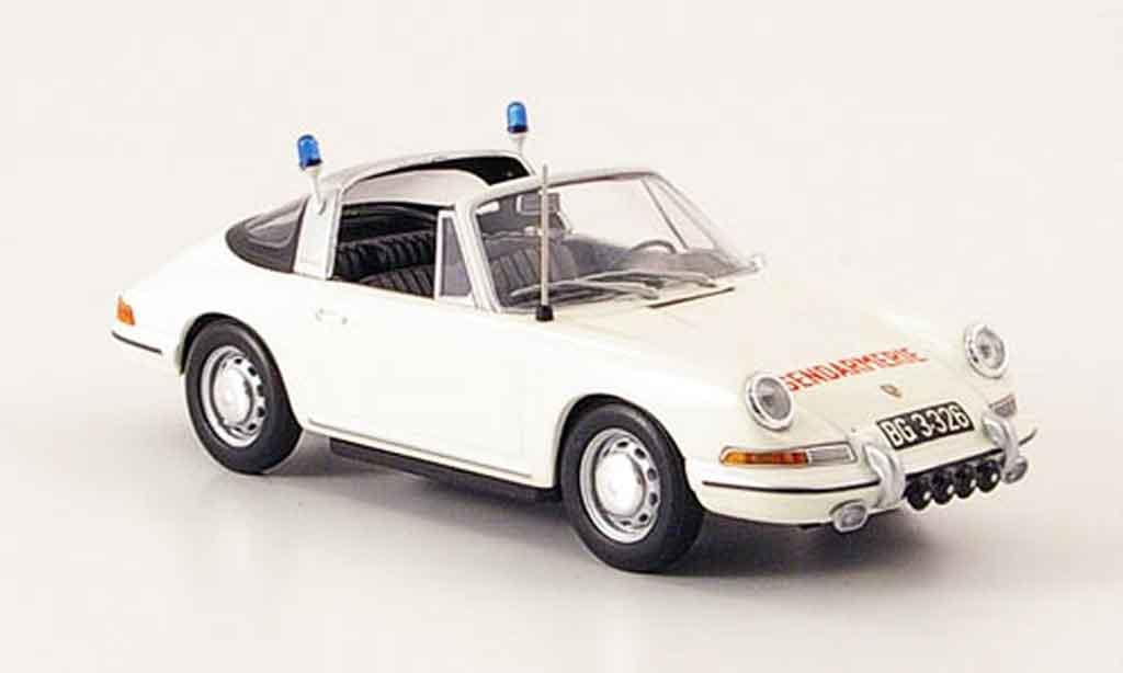 Porsche 911 Targa 1/43 Minichamps Targa Gendarmerie osterreich 1965 miniature