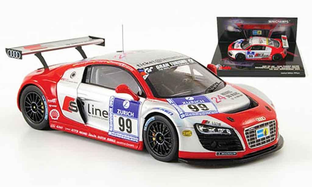 Audi R8 2009 1/43 Minichamps LMS No.99 S Line 24h Nurburgring miniature