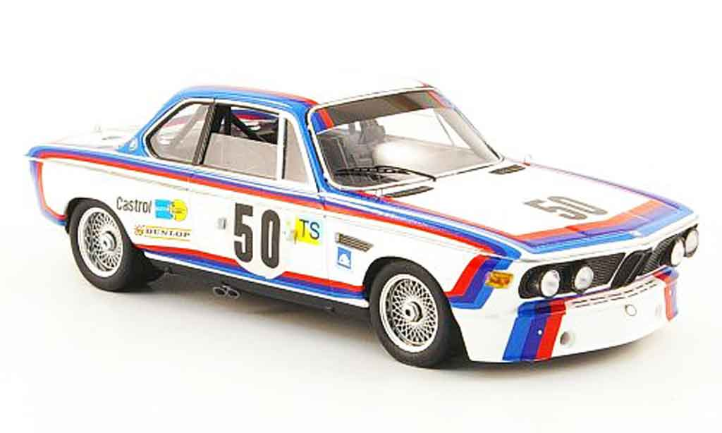 Bmw 3.0 CSL 1/43 Spark No.50 Amon Stuck 24h Le Mans 1973 diecast model cars