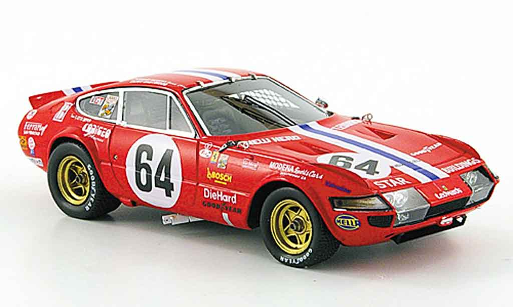 Ferrari 365 GTB/4 1/43 Red Line no.64 daytona 1977 miniature