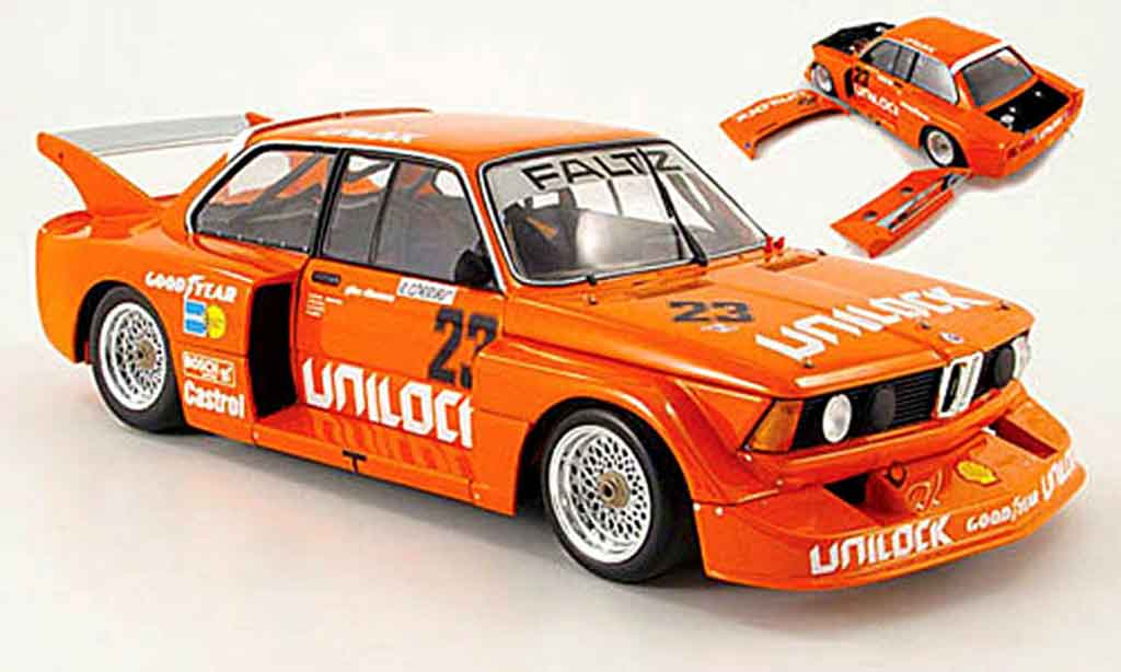 Bmw 320 E21 1/18 Minichamps i gruppe 5 no.23 unilock 6h motorsport 1977 miniature