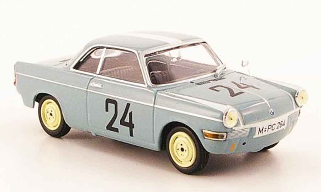 Bmw 700 1/43 Minichamps Sport No.24 Stuck Greger 12h Hockenheim 1960 miniature