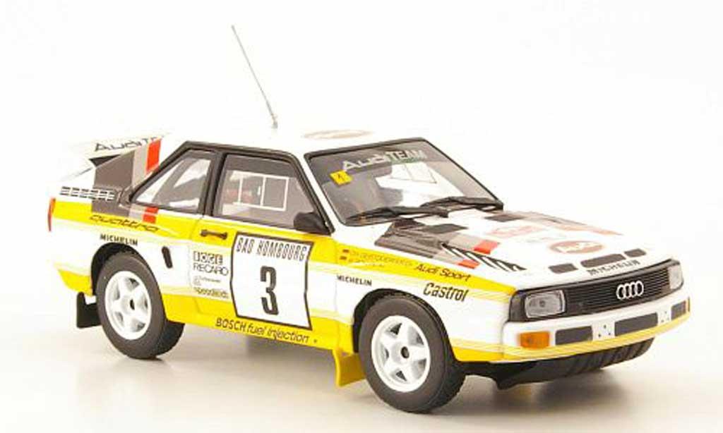 Audi Sport Quattro 1/43 Minichamps No.3 Rally Monte Carlo 1985 diecast model cars