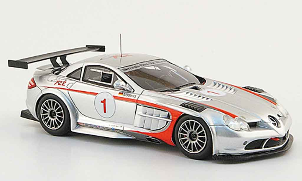 Mercedes SLR 1/43 Spark McLaren 722 GT (R 199) No.1 Club Trophy 2008 miniature