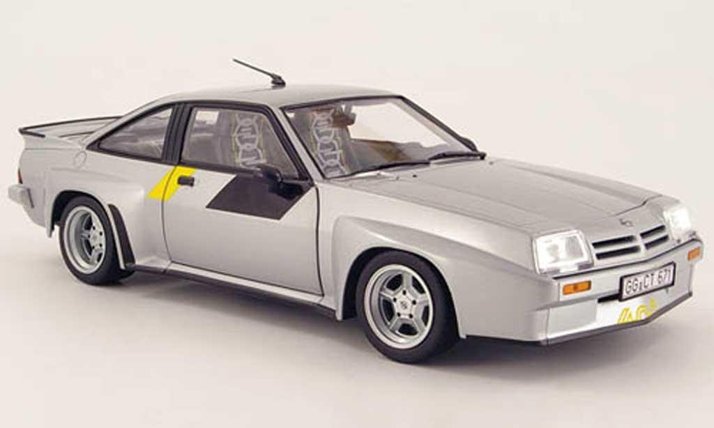 Opel Manta 1/18 Revell 400 grise homologations-modell 1981 miniature
