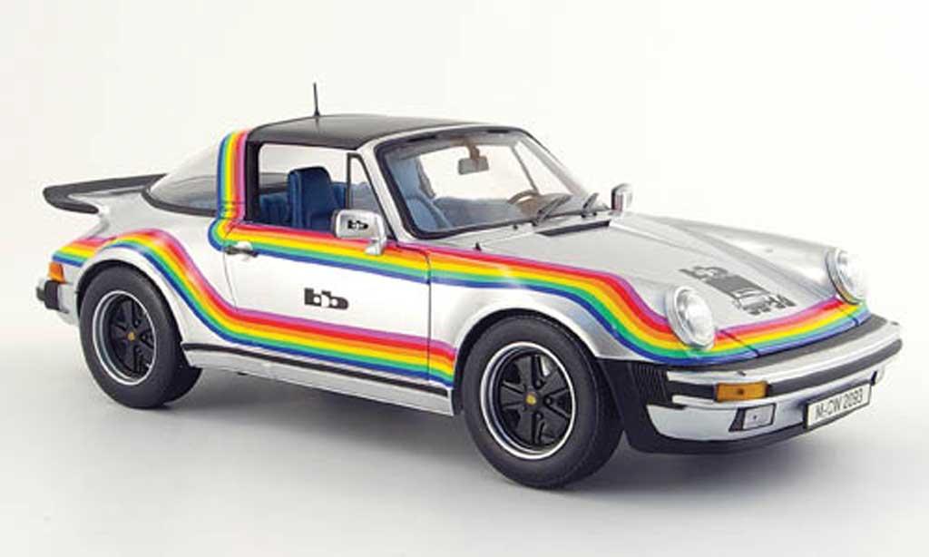 Porsche 930 Turbo 1/18 Norev Targa turbo b&b design sondermodell mcw 1976 miniature