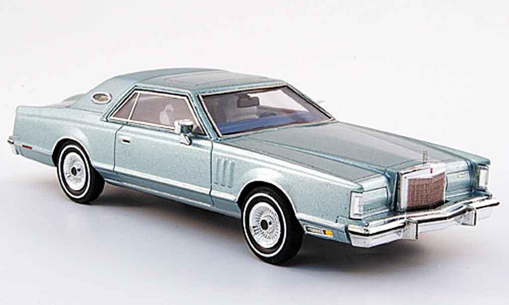 Lincoln Continental 1979 1/43 Premium X MK V verte miniature