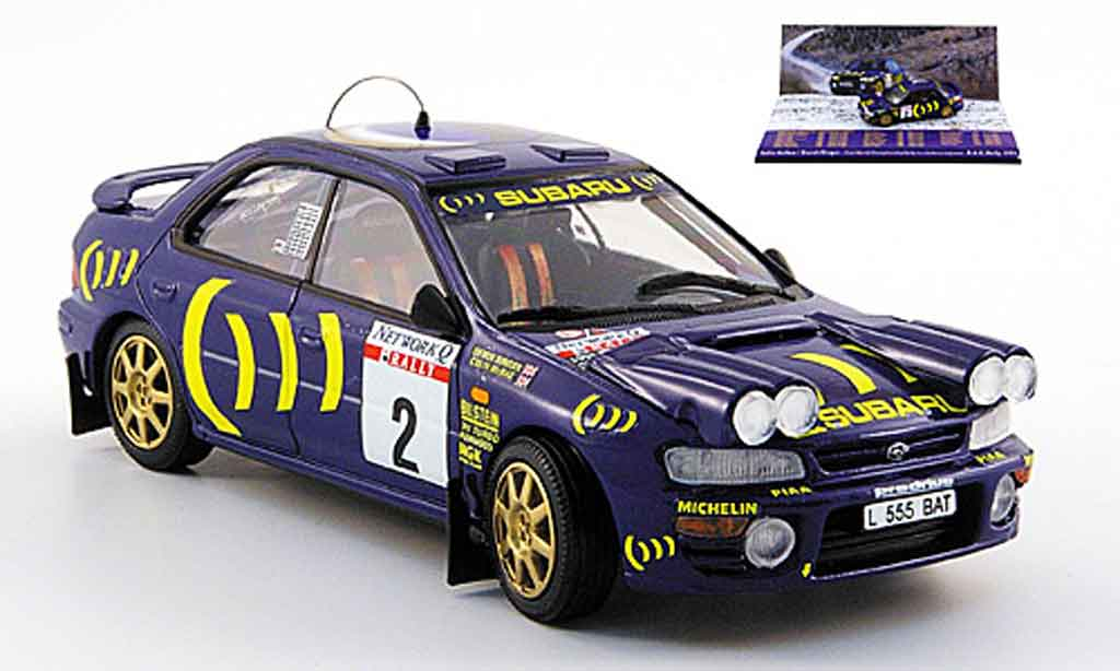 Subaru Impreza 1/43 Trofeu no.2 mcrae ringer rac rallye 1993 diecast model cars