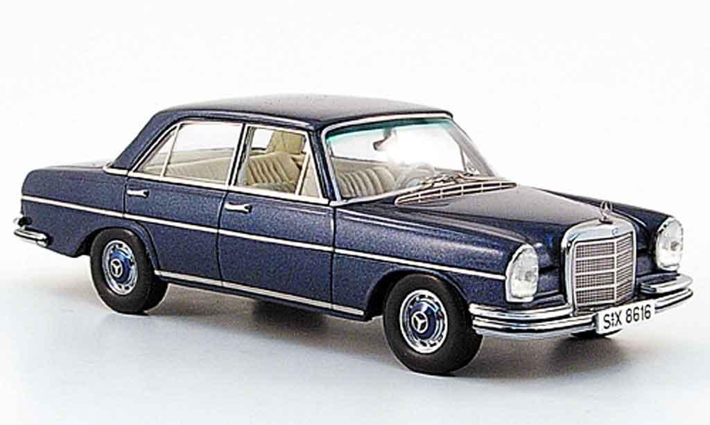 Mercedes 280 1971 1/43 Spark 1971 SE 3.5 (W 108) bleu 1971