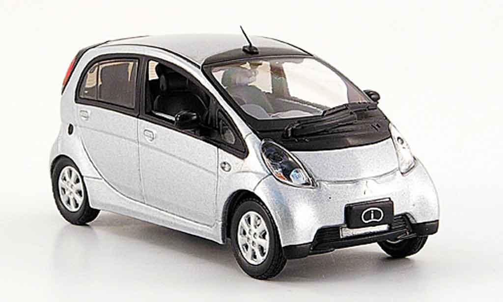 Mitsubishi iMiev 1/43 Vitesse grise metallisee Elektroauto miniature