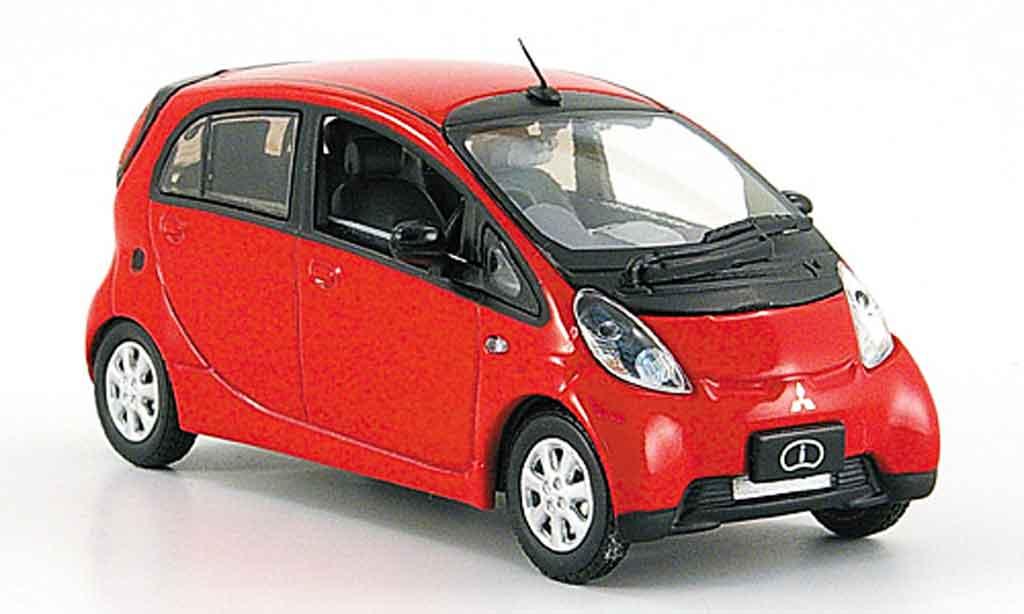Mitsubishi iMiev 1/43 Vitesse rouge Elektroauto miniature