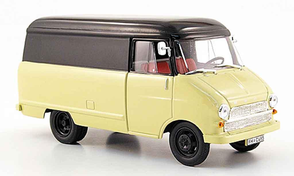 Opel Blitz 1/43 Starline kastenwagen a beige noire 1960 miniature