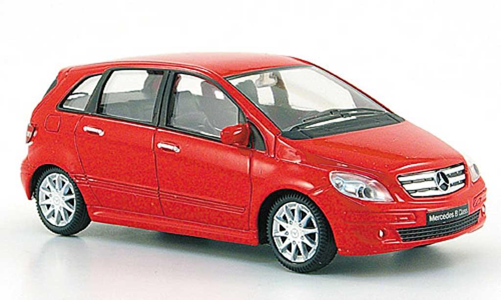 Mercedes Classe B 1/43 Mondo Motors rouge miniature