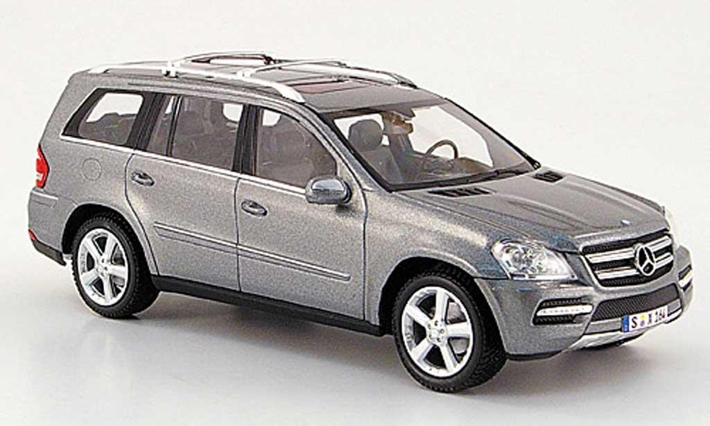 Mercedes Classe GLK 1/43 Minichamps (X164) grigia 2009 miniatura
