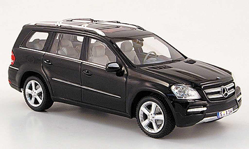 Mercedes Classe GLK 1/43 Minichamps (X164) nero 2009 miniatura