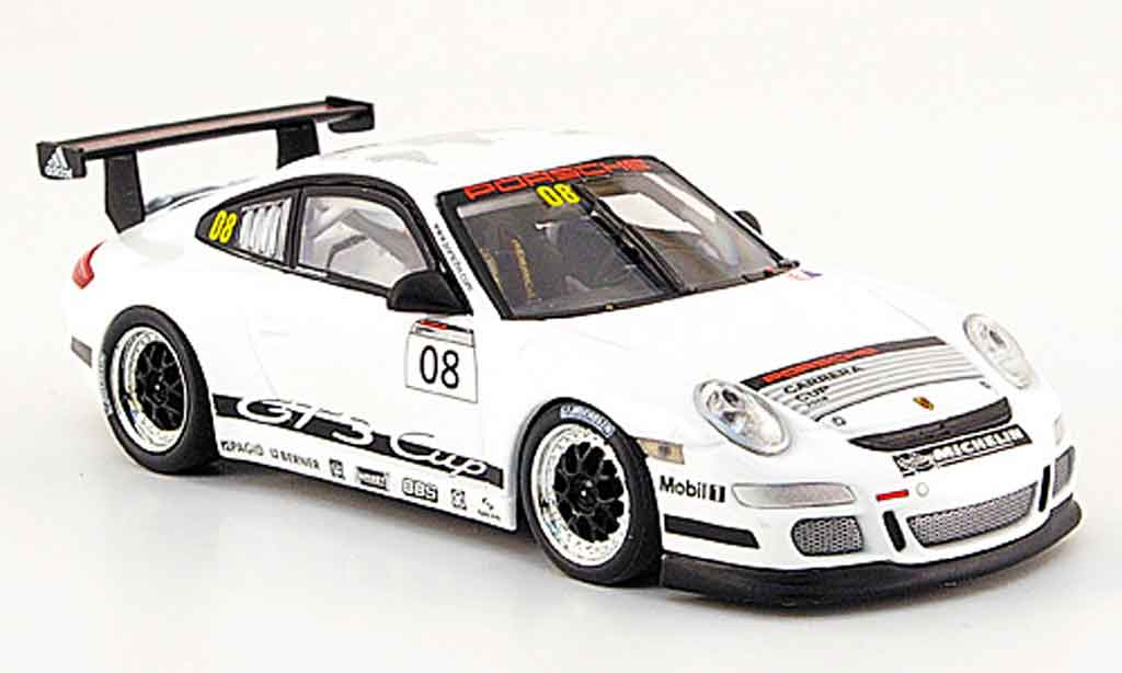Porsche 997 GT3 Cup 2007 1/43 Minichamps No.8 Vip Car miniature