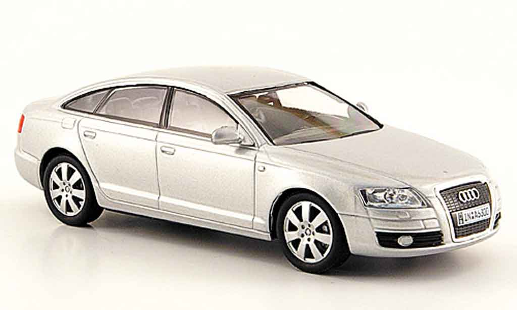 Audi A6 1/43 Solido grise metallisee 2006