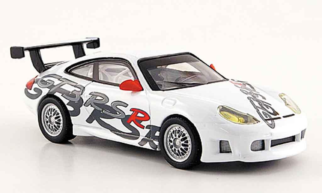 Porsche 996 GT3 RSR 1/43 Solido white 2000 diecast