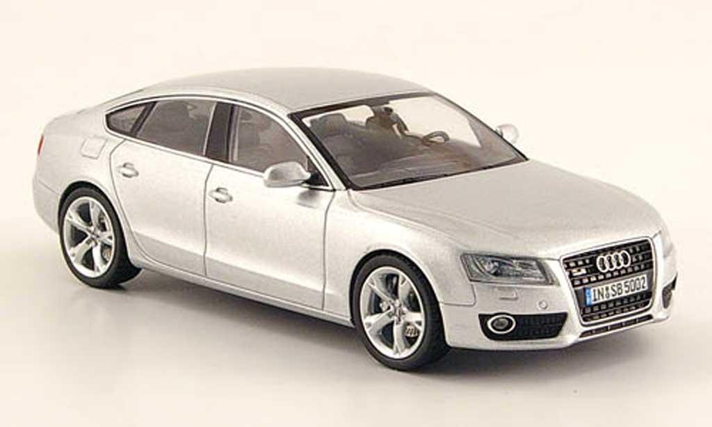 Audi A5 1/43 Schuco Sportback grise 2009