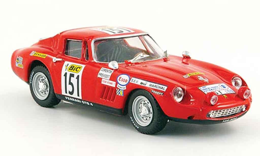 Ferrari 275 1/43 Best GTB/4 no.151 tour de france miniature