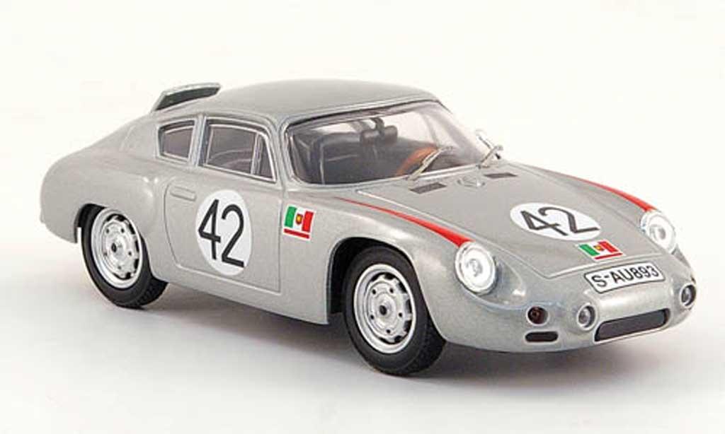 Porsche Abarth 1/43 Best No.42 Targa Florio 1962 Linge/Herrmann miniatura