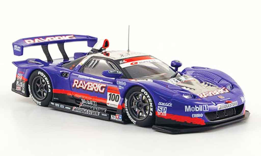 Honda NSX Super GT 1/43 Ebbro No.100 Raybrig 500 2009 diecast model cars