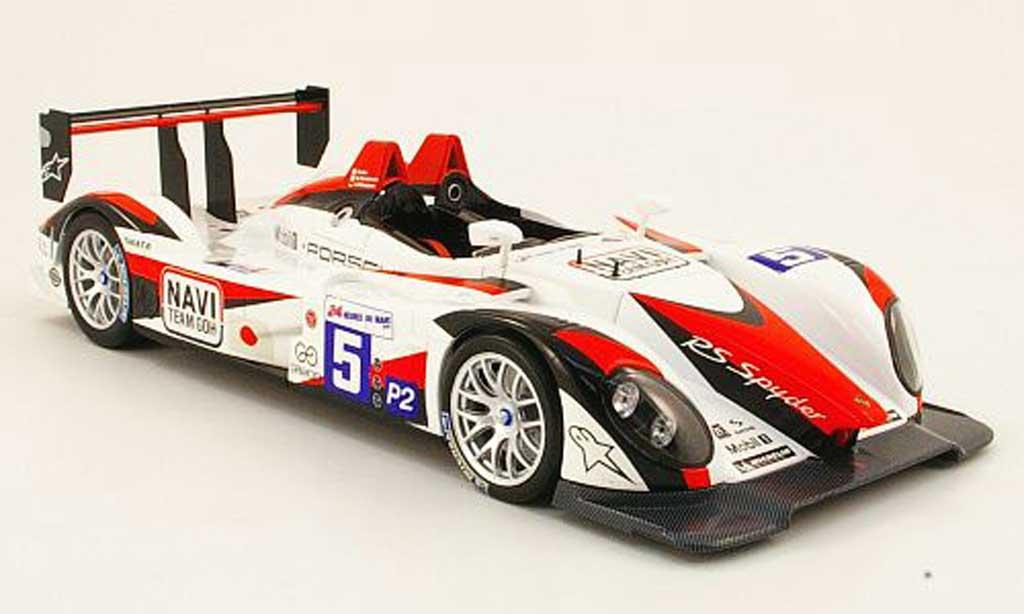Porsche RS Spyder 1/18 Norev no.5 navi team goh 24h le mans 2009 miniature