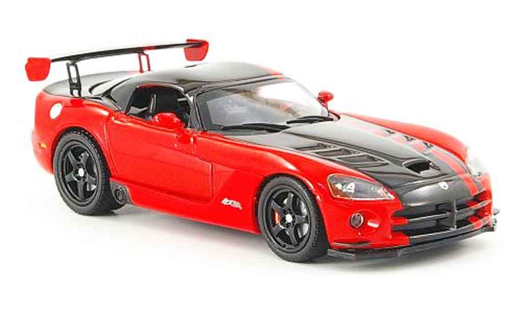 Dodge Viper SRT 10 1/43 Norev SRT10 ACR red black 2008 diecast