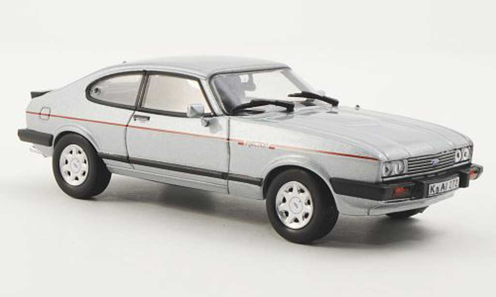 Ford Capri 1/43 Norev Mk III 2.8 Superinjection grey 1984 diecast model cars