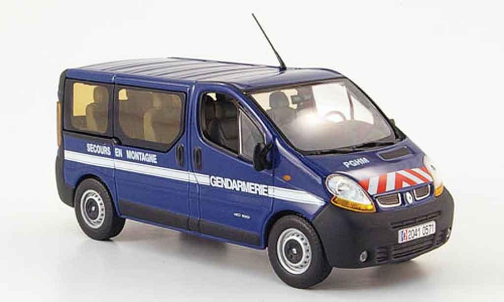 Renault Trafic 1/43 Norev gendarmerie secours en montagne 2004 miniature