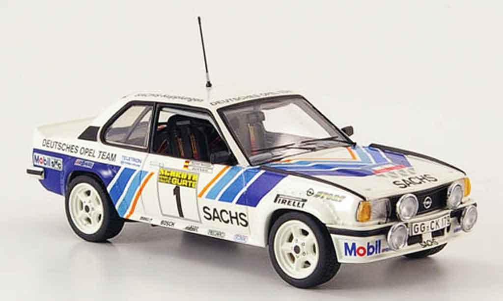 Opel Ascona B 1/43 Schuco 400 no.1 sachs winter rallye 1981 miniature