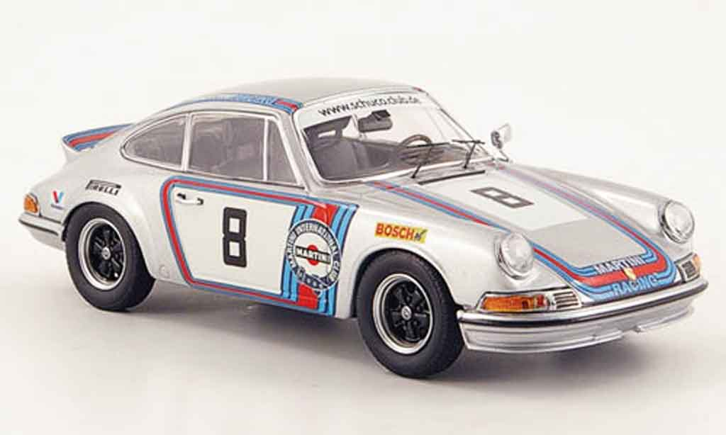 Porsche 911 RS 1/43 Schuco No.8 Martini Racing miniature