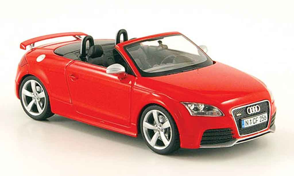 Audi TT RS 1/43 Schuco Roadster rouge 2009 miniature