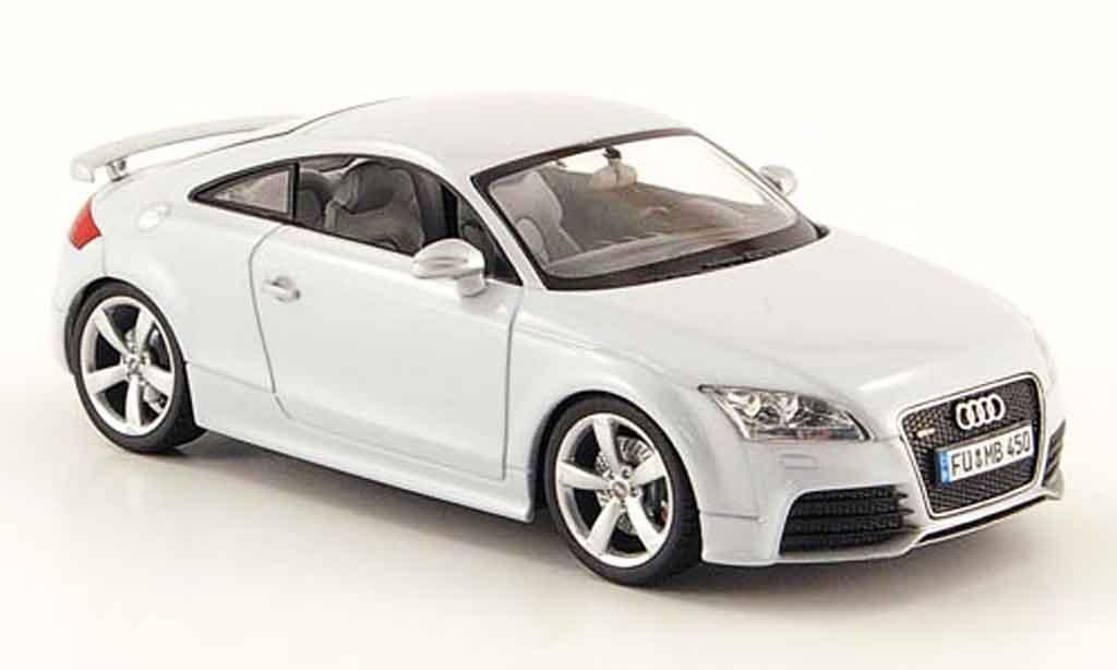 Audi TT RS 1/43 Schuco Coupe grise 2009 miniature