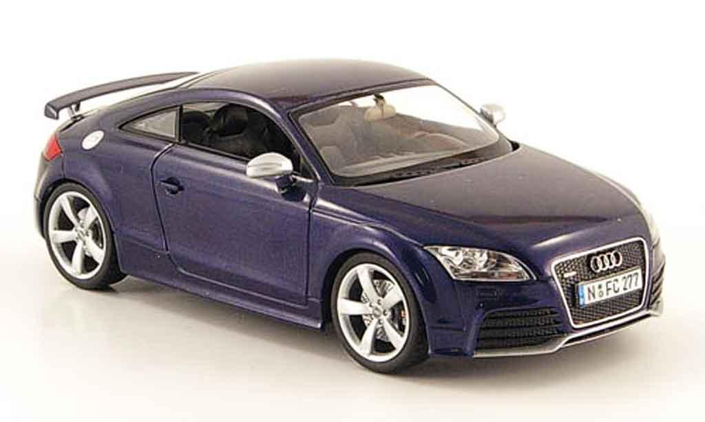 Audi TT RS 1/43 Schuco Coupe bleu 2009 miniature