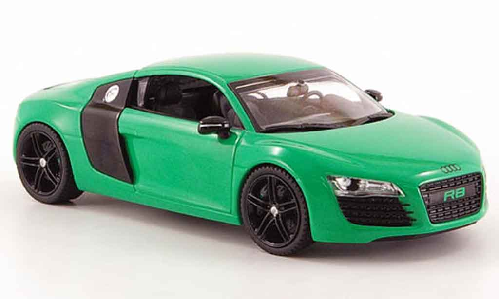 Audi R8 1/43 Schuco grun black diecast model cars