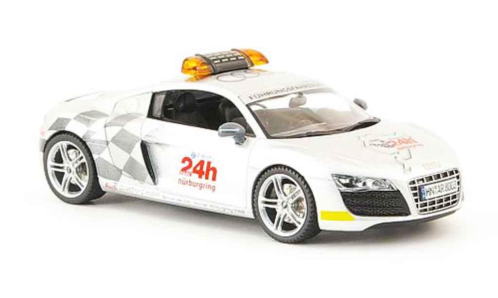Audi R8 2009 1/43 Schuco V10 Fuhrungsfahrzeug I 24h Nurburgring miniature