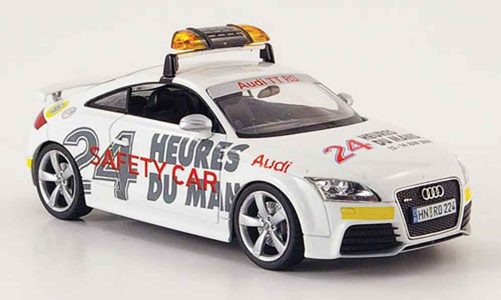 Audi TT RS coupe 1/43 Schuco Safety Car 24h Le Mans 2009 miniature