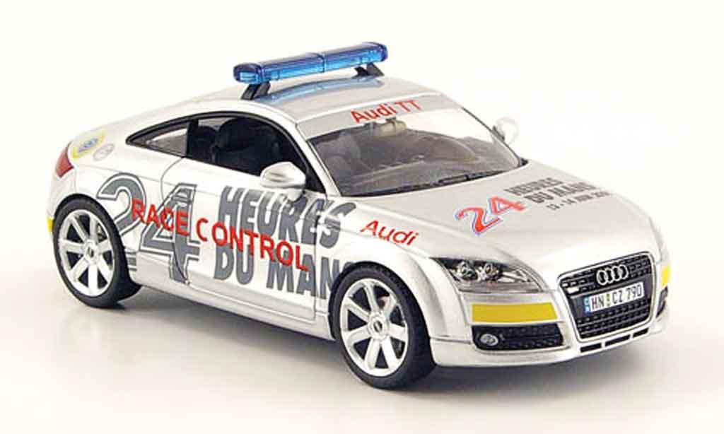 Audi TT coupe 1/43 Schuco Race Control 24h Le Mans 2009 miniature