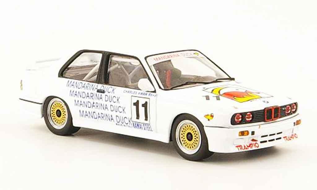 Bmw M3 E30 1/43 ixo No.11 Mandarina Duck Macau Guia Race 1989 diecast
