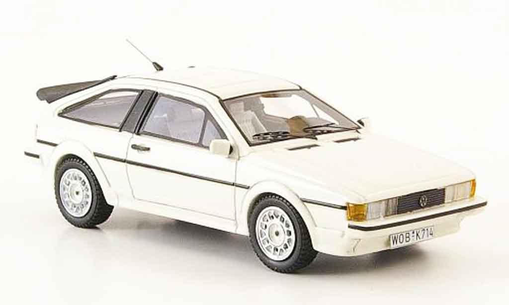 Volkswagen Scirocco 1/43 Neo scirocco ii gt scala blanche 1990 miniature