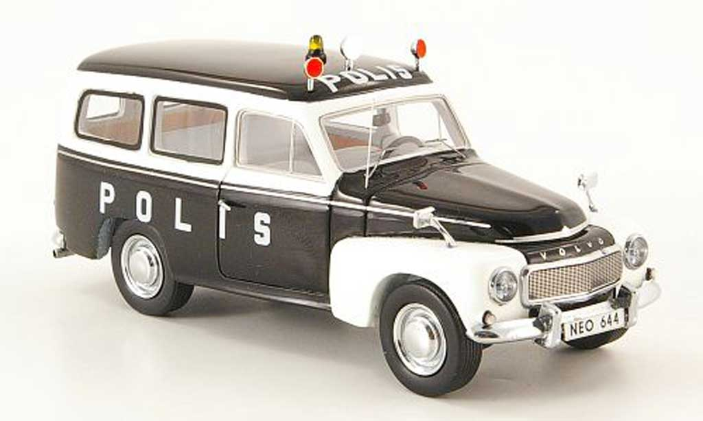 Volvo PV 445 1/43 Neo duett Polis police Schweden  1956 miniature