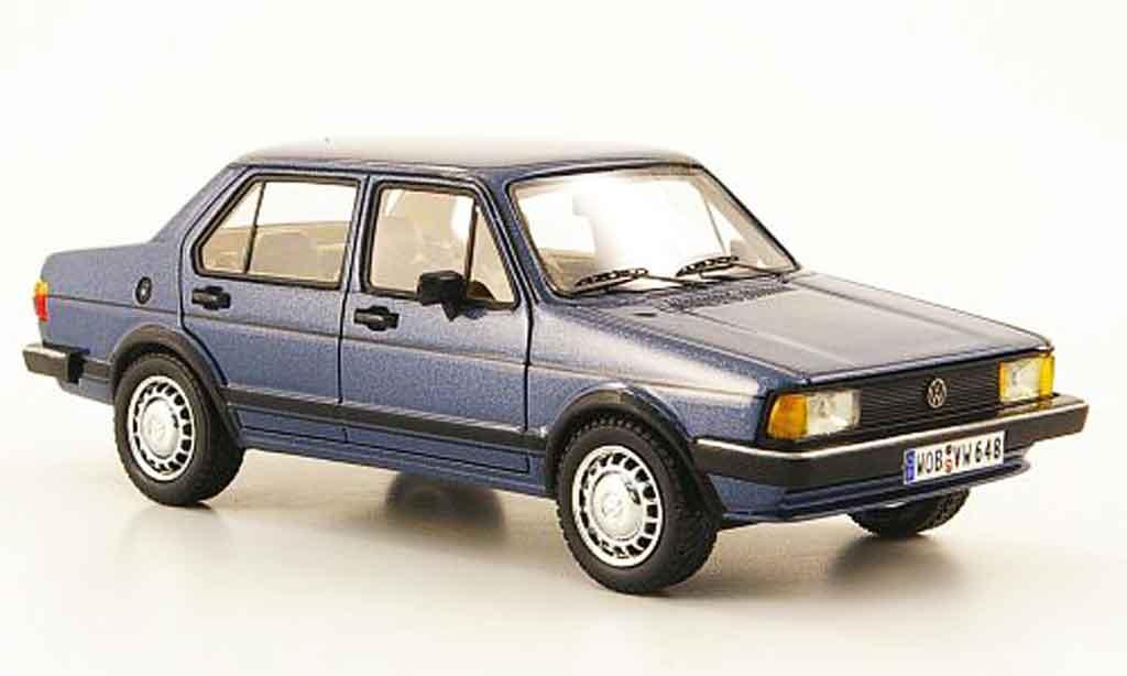 Volkswagen Jetta 1/43 Neo i bleu 4 portes 1980 miniature