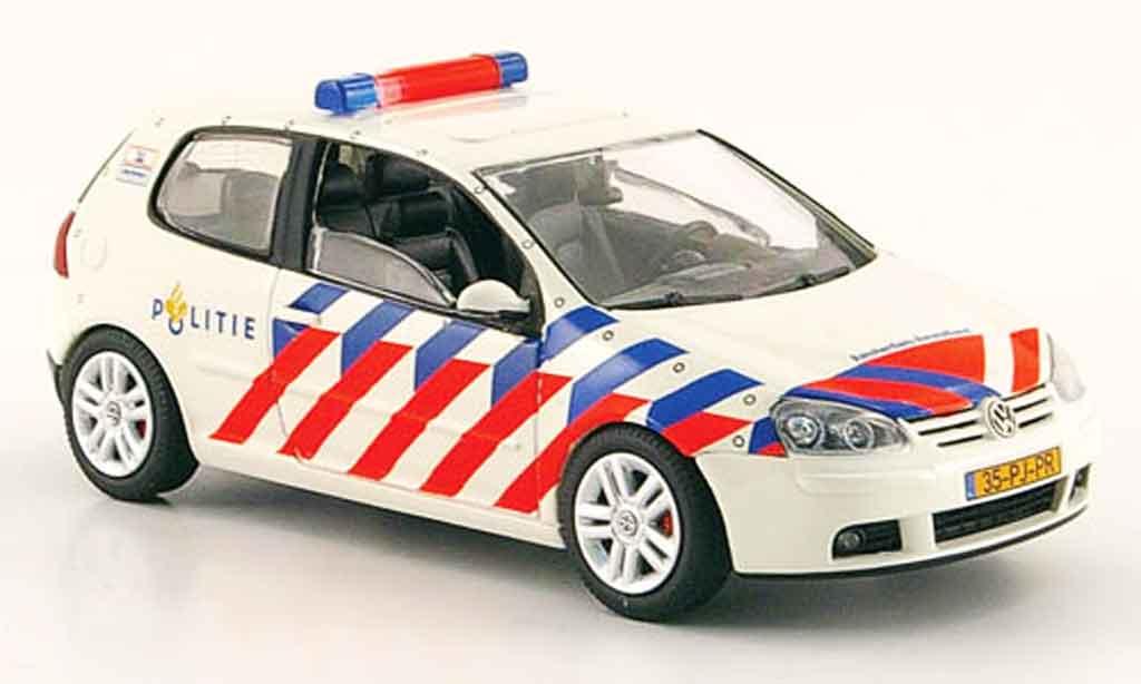Volkswagen Golf V 1/43 Schuco politie amsterdam amstelland miniature
