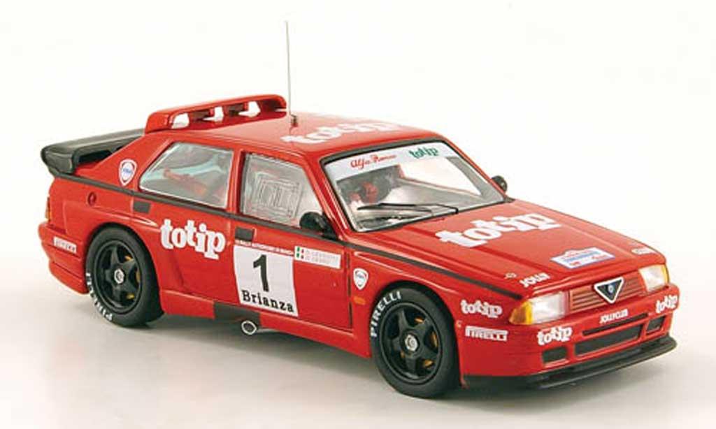 Alfa Romeo 75 Evoluzione 1/43 M4 Turbo No.1 totip Monza 1990 D. Cerrato / G. Cerri miniature