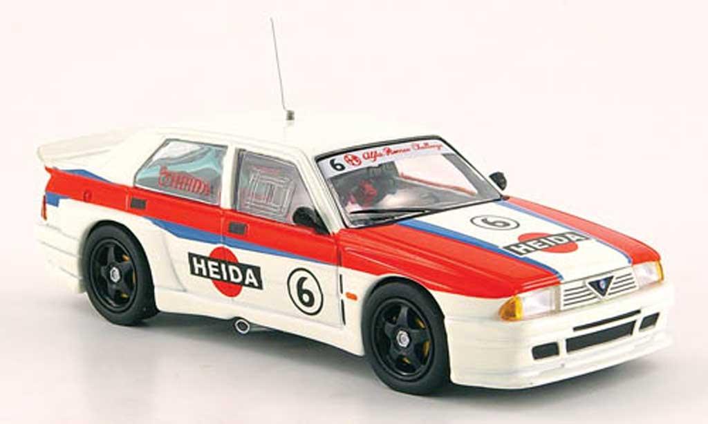 Alfa Romeo 75 Evoluzione 1/43 M4 Turbo Challenge 2000 No.6 Heida miniature